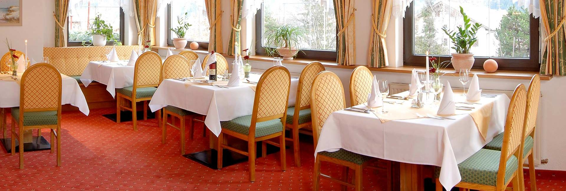Restaurant: Hotel Edelweiss in Pfunds